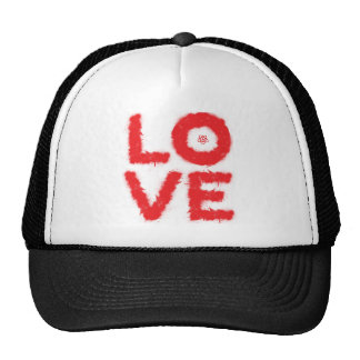 LOVE (Red Edition) Trucker Hats