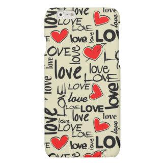 Love Red Heart Pattern