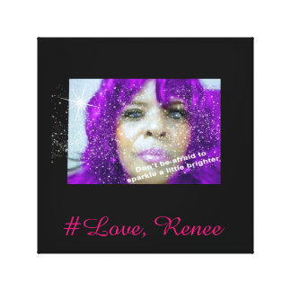 #Love, Renee Poster (Wall Art) Canvas Print
