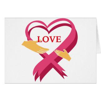 LOVE RIBBON CARD