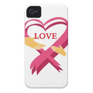 LOVE RIBBON Case-Mate iPhone 4 CASES