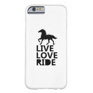 Love Ride Horse Lovers Gifts Riding Barely There iPhone 6 Case
