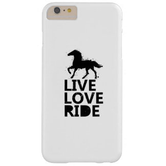 Love Ride Horse Lovers Gifts Riding Barely There iPhone 6 Plus Case