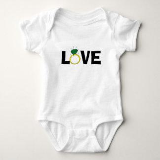 Love Ring Baby Bodysuit