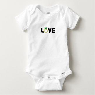 Love Ring Baby Onesie