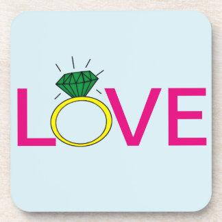 Love Ring Coaster