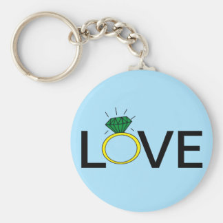 Love Ring Keychain
