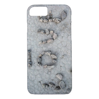 Love Rocks in Uzbekistan: Cool Romantic Photo iPhone 8/7 Case