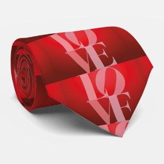 Love Romance Red Pink Tie