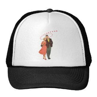 Love & Romance Vintage Illustration Trucker Hat