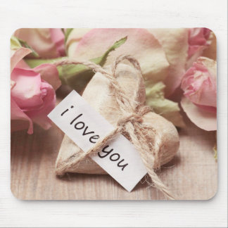 Love & Roses Mouse Pad