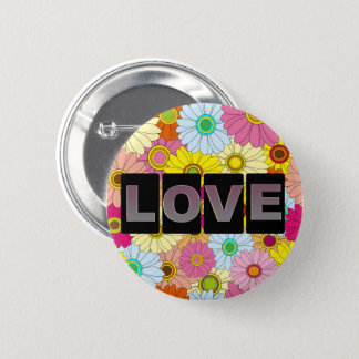 Love Round Button