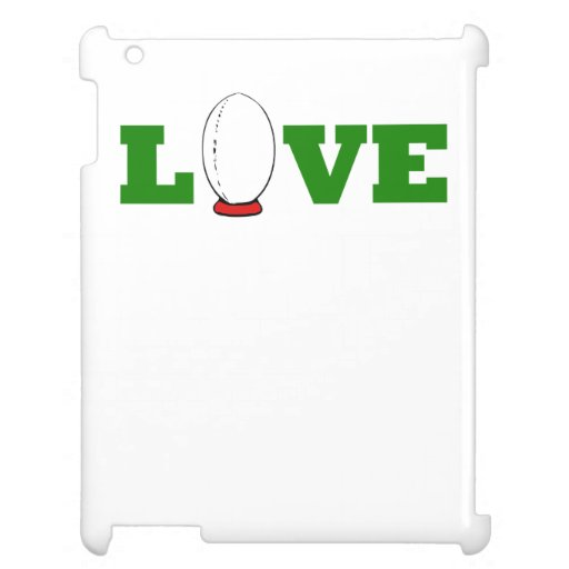 Love Rugby Case For The iPad 2 3 4