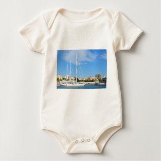 Love sailing baby bodysuit