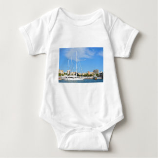 Love sailing baby bodysuit