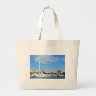 Love sailing large tote bag