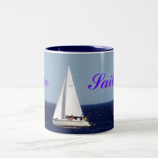 """""""Love Sailing!"""" Mug"""
