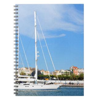 Love sailing spiral notebook