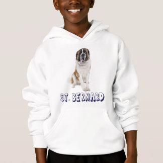 Love Saint Bernard Puppy Dog Hoodie