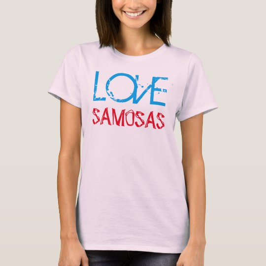 love samosas funny indian desi tshirt design