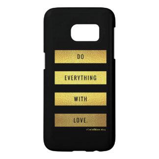 Love Samsung Galaxy S7 Case