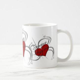 Love Saprono Singers Heart Coffee Mug
