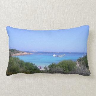 love sardinia beach of  prince lumbar pillow