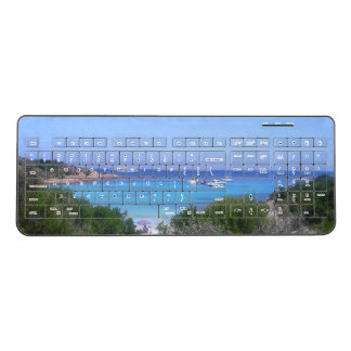love sardinia beach of  prince wireless keyboard