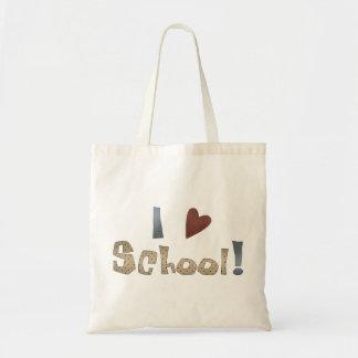 Love School Budget Tote Bag