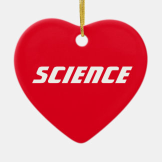 "Love ""Science"" - Ornament"