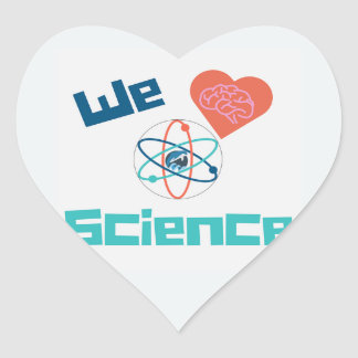 Love Science Sticker