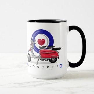 Love Scooters Mug