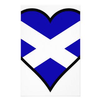 Love Scotland Custom Stationery