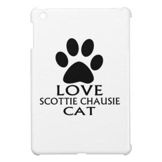 LOVE SCOTTIE CHAUSIE CAT DESIGNS CASE FOR THE iPad MINI