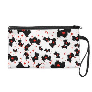 Love Scottie Dog Wristlet Bag
