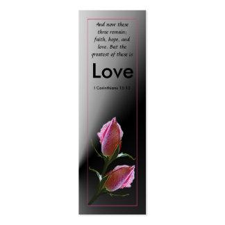 Love Scripture Profile Card Business Cards