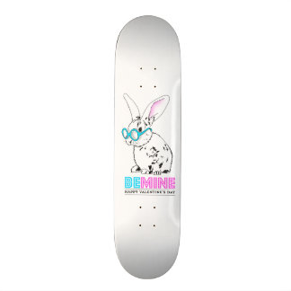 Love sees mines with - with personalized message skate decks
