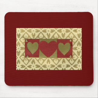 Love  Series  Collage - Heart # 18 Mouse Pad