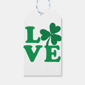 Love-Shamrock Gift Tags