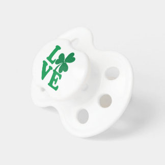 Love-Shamrock Pacifier