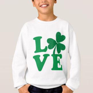 Love-Shamrock Sweatshirt
