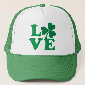 Love-Shamrock Trucker Hat