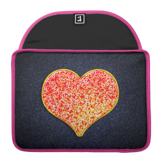 """LOVE -Shiny Pink gold -Custom Macbook Pro 13"""" case Sleeves For MacBooks"""
