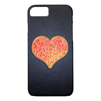 LOVE - Shiny Pink Gold - iPhone 7, Barely There iPhone 7 Case