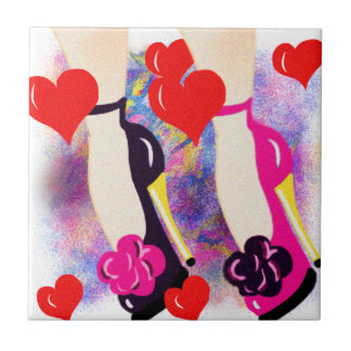 Love Shoes - Fun Lesbian Gifts &  Accessories Tile