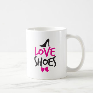 Love Shoes with cute little bow Mug