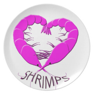 love shrimps plate