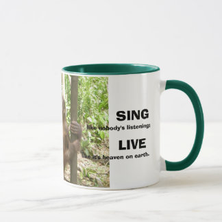 Love, Sing, Live, & Dance Inspirational Quotations Mug