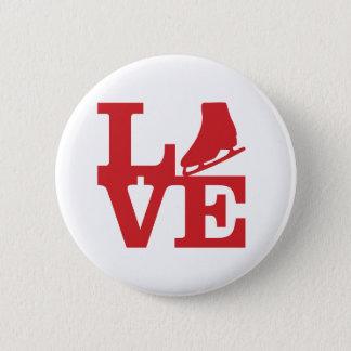 Love Skate 2 Inch Round Button