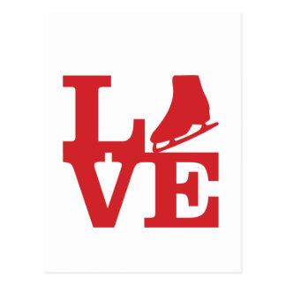 Love Skate Postcard